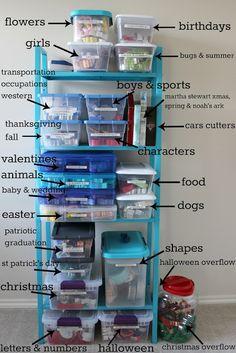 SSbyHB cookie cutter storage layout