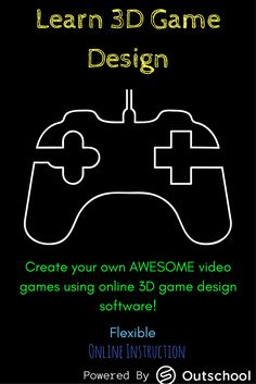"The ""Intro to 3D Game Design - Level 1"" course is a prerequisite to any advanced 3D game design courses offered by STEM Qwest through Outschool.  This course will follow a ""flexible schedule"" and does not have scheduled online meetings. This flexible sche"