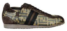 Fendi - Scarpe - Sneaker Basse - Uomo - 7E0327DB2F0QT2 - FASHIONQUEEN.NET #Fendi #Sneaker #Fashionqueen