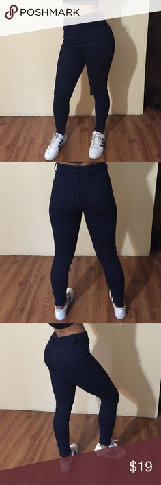 High waist skinny jeans Worn once, great for the fall weather coming up. Super comfortable. Forever 21 Jeans Skinny