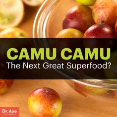 Camu camu - Dr. Axe http://www.draxe.com #health #holistic #natural