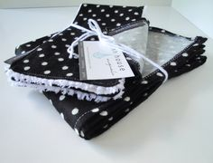 Flannel Burp Cloth and Blanket Set