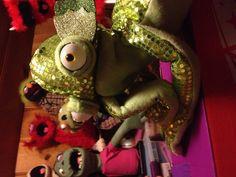 Hmmmm...Made by puppet artist/builder extraordinaire Shawn Engelmann!