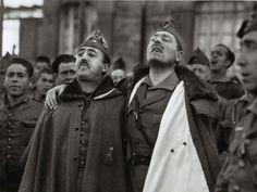 José Millán-Astray junto a Francisco Franco