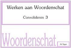 Leuke activiteiten om te werken aan de woordenschat van leerlingen, van: http://www.jufinger.nl/werken-woordenschat-consolideren-3/