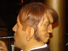 Man With 2 Faces -  Edward Mordake literally has two faces: one in the front of his head, like you and I, and another face in the back… a human looking face with it's own expressions. Alas, it could not speak nor eat, but it laughed    Read more: http://www.vyperlook.com/odd-strange/man-with-2-faces-edward-mordake#ixzz2KFxJF4I4