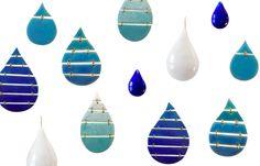 Fanny Agnier - enamel earrings
