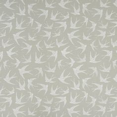 Clarke And Clarke Fly Away Taupe Fabric F1187/07.CAC.0 Fabric Roman Shades, Flight Patterns, Clarke And Clarke Fabric, Flies Away, Concept Home, Taupe Color, Birds In Flight, Fabric Design, Fabrics