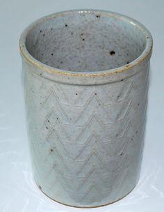 Richard Kjärgaard, vase in stoneware, Bing & Gröndahl, Denmark.