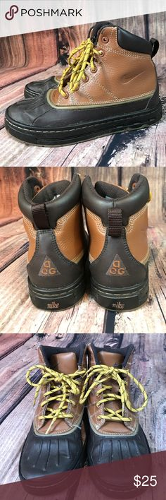 Nike ACG boots Nike ACG lace up boots Nike Shoes Rain & Snow Boots