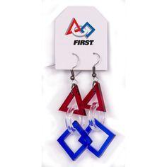 FIRST® Logo Acrylic Earrings