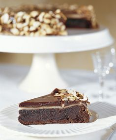 flourless chocolate almond cake image p 155_photo Caroline Kopp by The Recipe Club, via Flickr