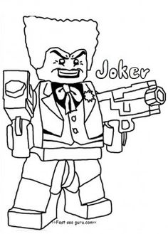 Joker Coloring Pages For Boyprint Out Lego Batman