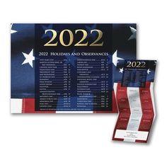 Calendar Christmas Cards, Calendar Holiday Cards, Personalized 2021 Holiday Cards, Christmas Cards, Holiday List, New Year Calendar, Renewable Sources Of Energy, Foil Stamping, Custom Cards, Letterpress, American Flag