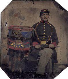 Drummer William F. Osborn  CO I 8TH NY HEAVY ARTILLERY