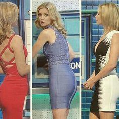 Racheal Riley, Rachel Riley Legs, Mini Skirt Dress, Tv Presenters, Sexy Dresses, Tight Dresses, Famous Women, Celebrity Style, Beauty