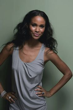 lip Black Actresses, Hot Actresses, Beautiful Actresses, Joy Bryant, Relaxed Outfit, Celebs, Celebrities, Woman Crush, Beautiful People