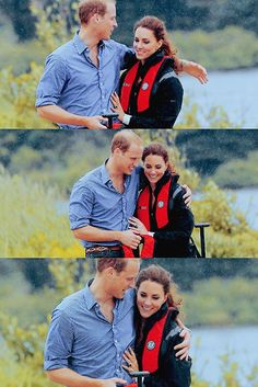 Will and Kate, Duke and Duchess of Cambridge, in Canada. July 2011.