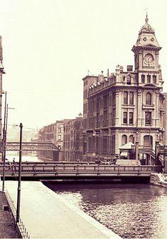 Erie Canal near Clinton Square, Syracuse NY