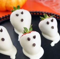 Strawberry Ghosts - Party Theme Ideas