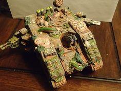 Warhammer 40K Space Marine Chaos Nurgle Land Raider | eBay