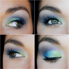 Agape Love Designs: Peacock Inspired EOTD