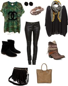 """""""One day, two options"""" by roarev on Polyvore"""