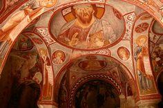 Rock Chapel Goreme, Turkey Apple Church (Elmalı Kilise)