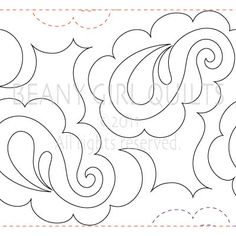 Scraps of Life: Pantograph Patterns pretty paisley