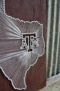 Texas am wood nail and string art texas a stringnail art aggie pride reclaimed wood nail and string tribute by cwrought prinsesfo Image collections