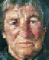 Chuck Close, 'Sienna', 2013, Guild Hall | Artsy