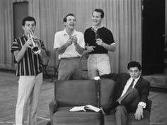 Frankie Avalon, Bobby Darin, Pat Boone and Paul Anka 50s Music, Pat Boone, Frankie Avalon, Annette Funicello, Bobby Darin, American Bandstand, Hairspray, Artistic Photography, Beach Party