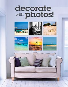 Create a gallery wall of your favorite travel memories with canvas prints. Photo Supplies, Art Supplies, Print Your Photos, Great Photos, Wall Canvas, Canvas Prints, Beach Vacation Packing List, Travel Outfit Summer, Travel Memories