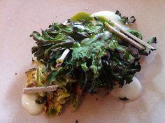 Simon Rogan's Great British Menu at Rogan and Co Cartmel Great British Menu, Seaweed Salad, Asparagus, Vegetables, Ethnic Recipes, Food, Studs, Essen, Eten