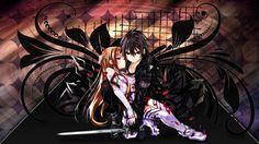 Sword Art Online Kirito and Asuna Anime Wallpaper