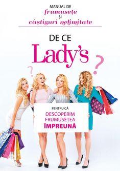 Ladys ro - Descoperim frumusetea impreuna! Catalog, Marketing, Lady, Youtube, Movies, Movie Posters, Films, Film Poster, Brochures