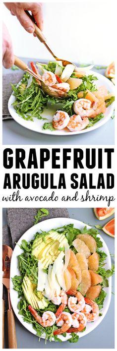 Grapefruit Avocado Salad | Yummylicious