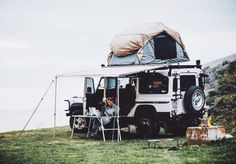 """mrbenbrown: """"I feel free when we're on the road together Land Rover Defender, Defender Camper, The Road, Jeep Camping, Camper Life, Travel Aesthetic, The Great Outdoors, Adventure Travel, Dream Cars"""