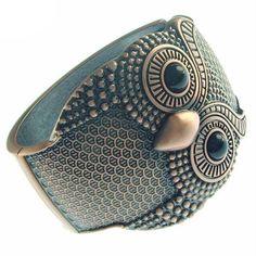Owl #bracelet #Antique #Copper #bracelet  #bangle
