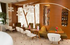 ATOMIUM CEILING_Design Buro fur Form, 2006_Boscolo Exedra Nice Hotel-Bar Genesi, Nice, France