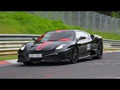 Vid�o - Unique Ferrari 430 Scuderia : Nero Daytona/Red Alcantara sur Supercharged
