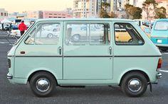 Suzuki Carry Van.Classic Micro Car Art&Design @classic_car_art #ClassicCarArtDesign