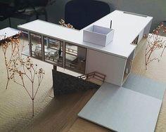 Interesting Find A Career In Architecture Ideas. Admirable Find A Career In Architecture Ideas. Maquette Architecture, Architecture Model Making, Architecture Student, Minimalist Architecture, Interior Architecture, Archi Design, Arch Model, Model Homes, Modern Interior Design