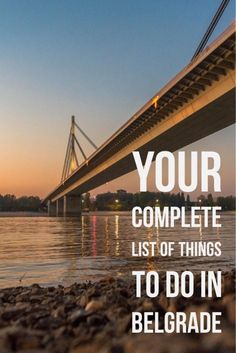 Your Complete List of Things to Do, Eat, Sleep in Belgrade. One of my favorite cities in the Balkans!