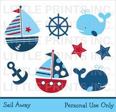 free nautical clip art illustrations cliparts nautical fun rh pinterest com baby nautical clipart free nautical clipart free
