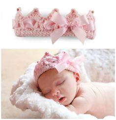 Crochet Crown Headband