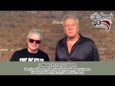 Air Supply Anniversary Tour - Video ID Eighties Music, Romantic Music, Air Supply, 40th Anniversary, Tours, Contemporary, Feelings, Concert, Videos