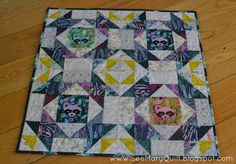 see mary quilt: Finish It Up Friday: Schnitzel and Boo Tula Mini