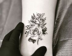 Flowers Tattoo Artist: •DRAG• N Y C ☢WEST4TATTOO☢ ☎212-924-8080 163 west4th street appointment Only:west4tattoo@gmail.com