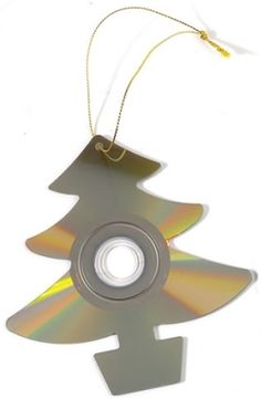 Recycled CD Tree